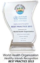 World Health Organization Western Pacific Region,Healthy Islands Recognition Best Practice 2013